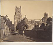 Ely Cathedral, from the Grammar School