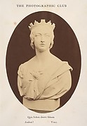 Copy of a Bust of Her Majesty Queen Victoria, by Joseph Durham, Esq. F.S.A.