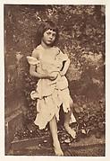 "Alice Liddell as ""The Beggar Maid"""