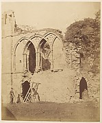 Easby Abbey.  The Refectory