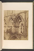 Rivaulx Abbey.  The Triforium Arches