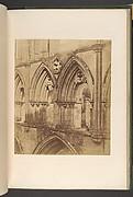 Rivaulx Abbey.  The Triforium Arches