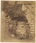 Kirkstall Abbey.  Doorway on the North Side