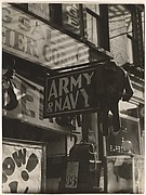 [Army Navy Storefront, New York]