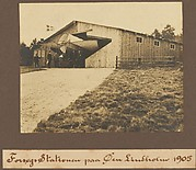 Forsogs Stationar paa Oeu Lindholw 1905