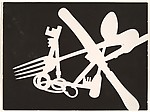 [Photogram; Knife, Fork, Spoon, Keys]