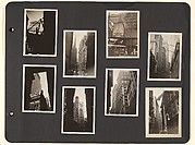 [Album page: Lower Manhattan, Beaver Street Vicinity, New York City]