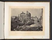 Ruins of the Pinckney Mansion, Charleston, South Carolina
