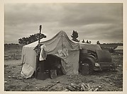 [Migrant Pea Picker's Makeshift Home, Nipomo, California]