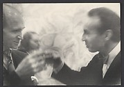 Anthony Tudor and George Balanchine Toasting at a Birthday Party for Balanchine