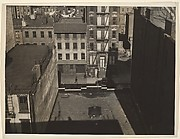[Architectural Study from Rooftop, Chelsea (?), New York]