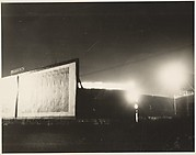 [Billboards at Night, Detroit]