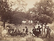 Camp of Captain Hoff, Rear View, Gettysburg, Pennsylvania