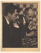 Dr. Emanuel Lasker and His Brother
