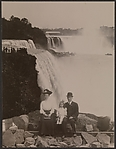 [Family in front of Niagara Falls]