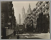 Henry Street from Market, Looking West, Manhattan