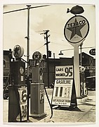 Gasoline Station, Tremont Avenue and Dock Street, Bronx, New York