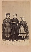 Rebecca, Charley and Rosa, Slave Children from New Orleans
