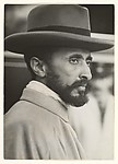Haile Salassie, Former Emperor of Ethiopia, Photographed at the Railway Station of Geneva on His Arrival to the League of Nation's Historic Session