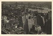 [Manhattan Skyline looking Northeast toward Roosevelt Island and the Queensboro Bridge, New York City]
