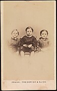 """Frank, Frederick & Alice. """"The Children of the Battle Field"""""""
