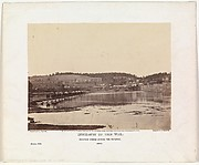 Pontoon Bridge Across the Potomac, Berlin, October 1862