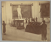 [Thaddeus Stevens Lying in State in the Rotunda of the Capitol at Washington]