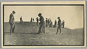 [Students and Teachers Playing Golf on Thomas Ridge near Hillside Home School, Spring Green, Wisconsin]