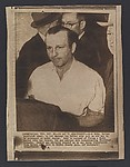 [Associated Press Wire Photograph of Jack Ruby, Printed by Caption]