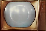 [Three Studies of a Television Set: Total Eclipse of Sun]