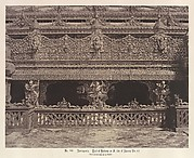 Amerapoora: Part of Balcony on the South Side of Maha-oung-meeay-liy-mhan Kyoung
