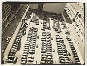 [Aerial View, Parking Lot, New York]