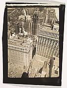 [Aerial View, Manhattan, New York]