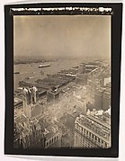 [Aerial View, Lower Manhattan, New York]