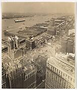 [Aerial View, Lower Manhattan, New York]