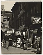 [Storefronts, New York]