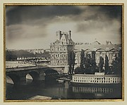 [The Pavillon de Flore and the Tuileries Gardens]