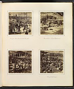 [View From Music Court to South Transept; View in Tropical Department; View of the Egyptian Court; View of North Transept]