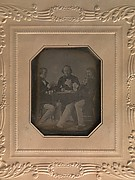 Three Men Playing Cards
