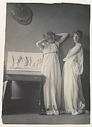Two Pupils in Greek Dress