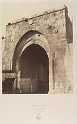 Jérusalem. Porte de Damas (Bab-el-Ahmoud)