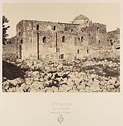 Jérusalem. Église Ste Anne appartenant à la France