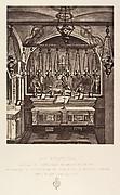 Xe Station. Jésus est dépouillé de ses Vêtements. L'emplacement de cette station est indique par la mosaïque en marbre que l'on voit devant l'autel.