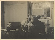 Paul Poujaud, Mme. Arthur Fontaine, and Degas