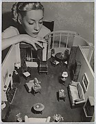 Model with Room Designed by Grace Meyercord