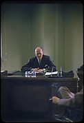 [68 Portraits of M. J. Rathbone of Jersey Standard Oil, for Fortune Business Executive Profile]