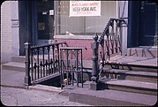 """[16 Views of New York Streets, Possibly for """"Street Furniture"""" Series]"""