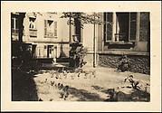 [Courtyard of  5, rue de la Santé, Paris]