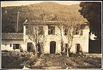 [Façade of French Country-Style House, Cyprés de St. Jean par Grasse, France]
