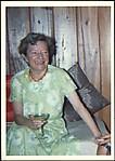 [Jane Evans Brewer, Sister of Walker Evans, at Walker Evans' s House, Old Lyme, Connecticut]